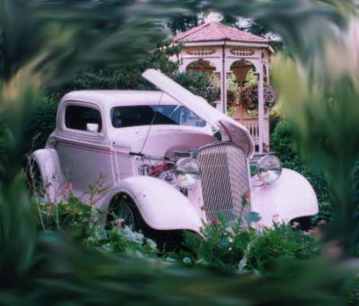 """Ms. Pinky"", Ken and Jeanie H's 1934 Chevy Coupe"
